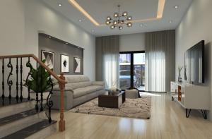 thiết kế nội thất phòng khách kiến trúc nagopa
