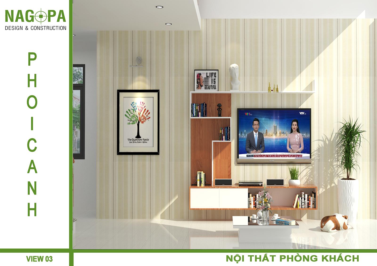 thiết kế thi công nhà ở gia đình tại đồng xoài 05