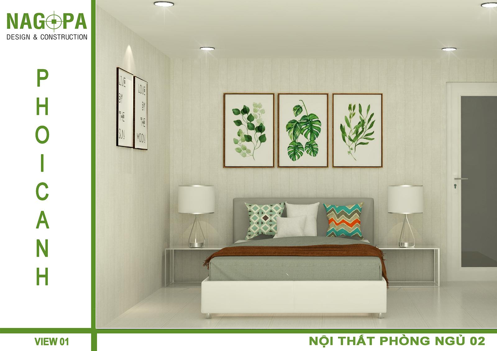thiết kế thi công nhà ở gia đình tại đồng xoài 09
