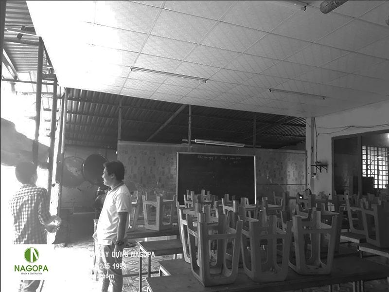 khảo sát thiết kế cải tạo nhà anh tôn tại Dĩ An 05