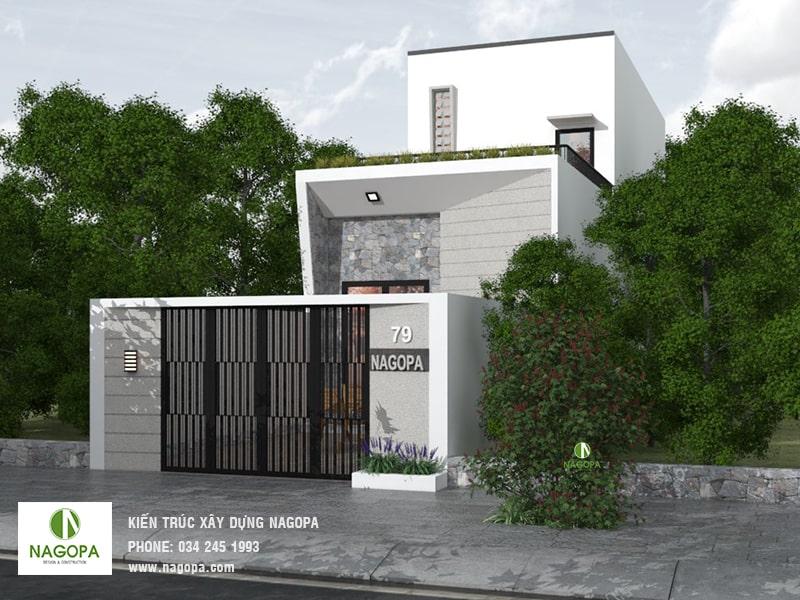 Nagopa thiết kế nhà phố