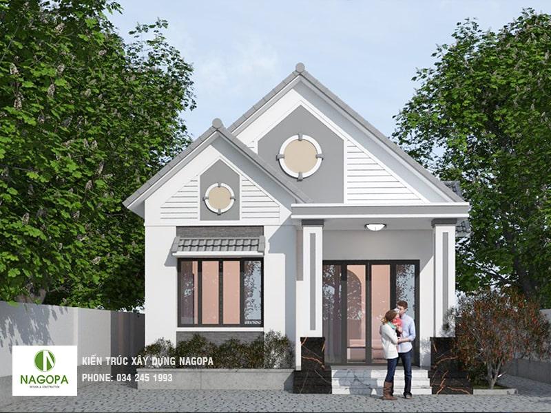 thiết kế nhà biệt thự vườn chị thy tại thuận an bình dương 01