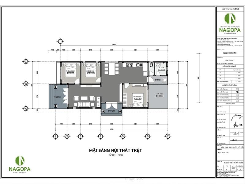 thiết kế nhà biệt thự vườn chị thy tại thuận an bình dương nagopa 02