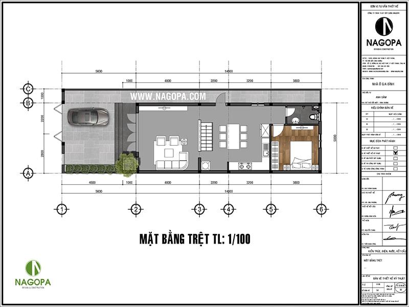 thiết kế nhà phố 200m2 tại phường phú mỹ bình dương 01