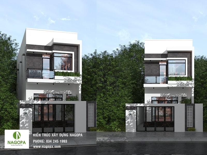 thiết kế nhà phố 200m2 tại phường phú mỹ bình dương 02