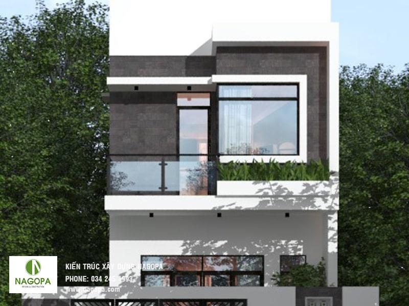 thiết kế nhà phố 200m2 tại phường phú mỹ bình dương 04