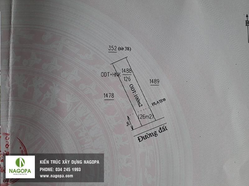 Khảo sát thiết kế xây dựng nhà chị mai linh tại khánh bình 05 03