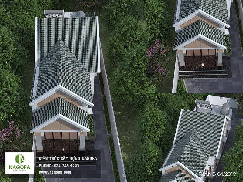 Thiết kế nhà cấp 4 mái thái tại Tương Bình Hiệp, Thủ Dầu Một 01