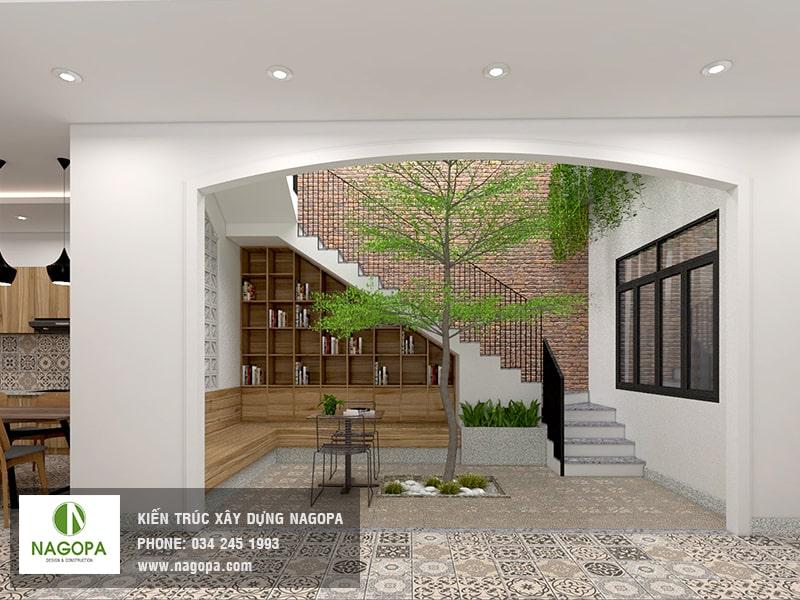 hình ảnh nội thất bếp nhà phố hiện đại 03
