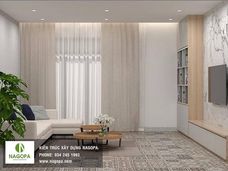 hình ảnh nội thất phòng ngủ nhà phố hiện đại