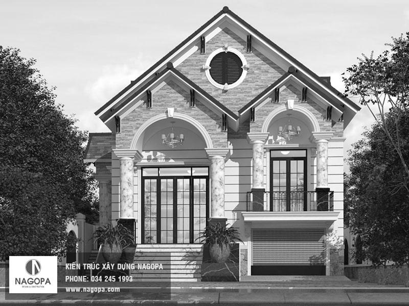 thiết kế nhà đẹp tại Tân Uyên nagopa