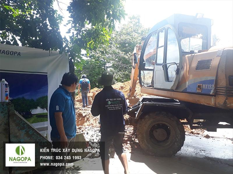 nagopa khởi công xây dựng nhà ở thủ dầu một