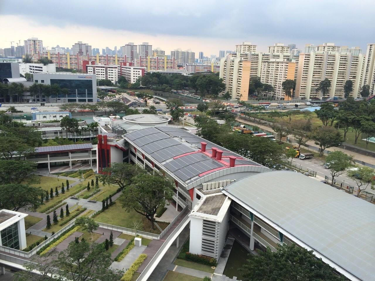 tòa nhà zeb năng lượng đỉnh cao công trình xanh của singapore