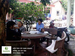 tư vấn thiết kế nhà cho chị Lan tại Phường Hiệp Thành 01