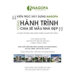 Hành trình chia sẽ mẫu nhà đẹp 2019 Kiến Trúc Xây Dựng NAGOPA