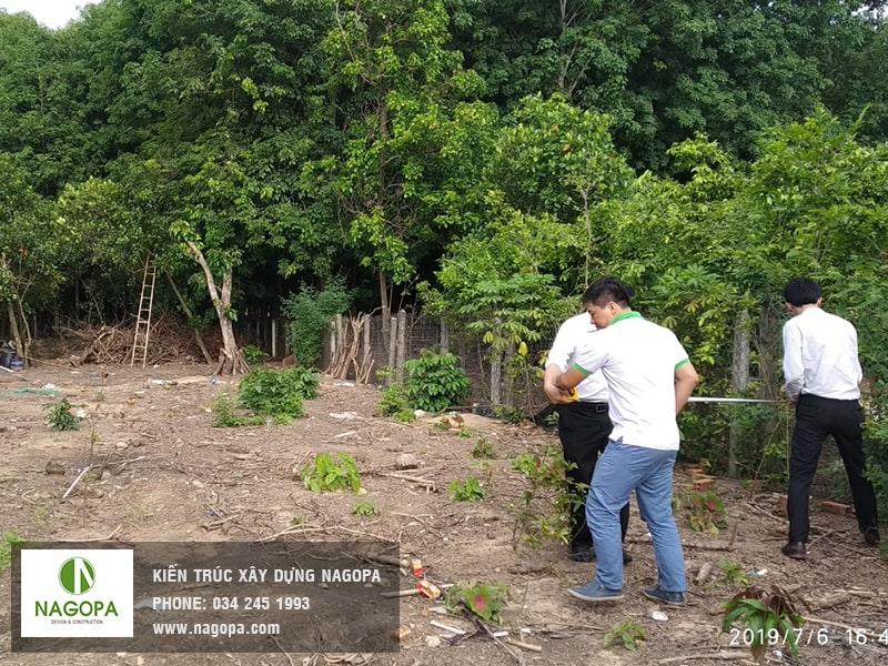 khảo sát xây dựng nhà anh Phong Định Hòa Thủ Dầu Một 01