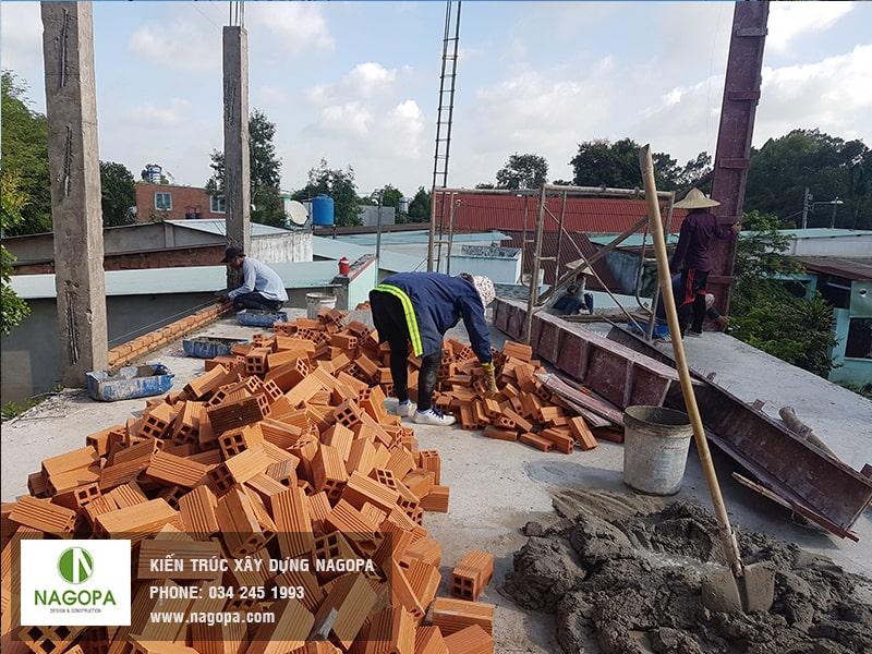 nagopa công tác tháo đổ coppha cột 02