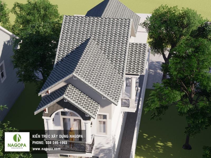 nagopa view nhìn trên mái