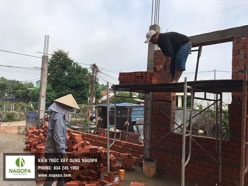 xây tường nét đẹp xây dựng nagopa