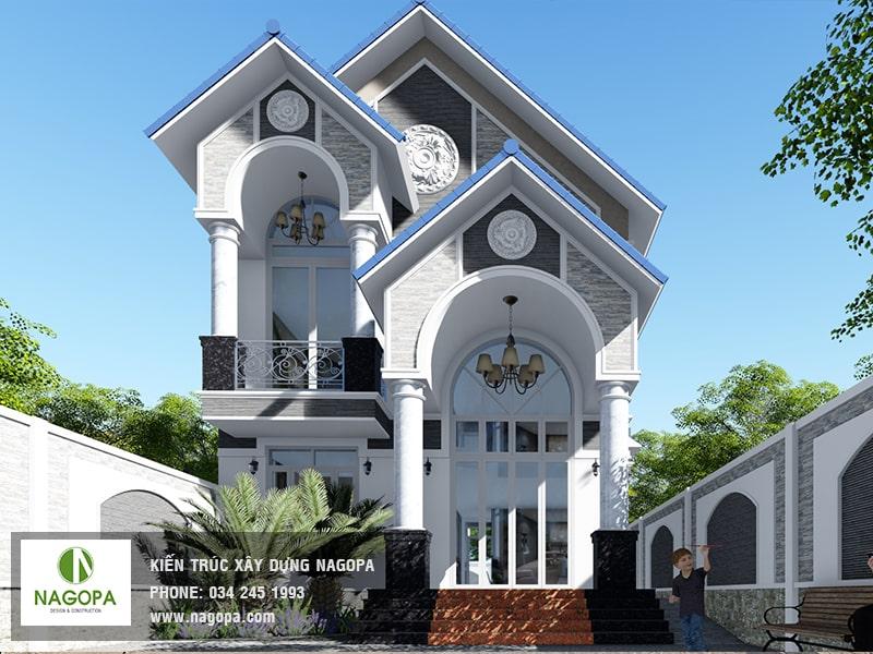 khám phá biệt thự 2 tầng tại Định Hòa, Thủ Dầu Một 01