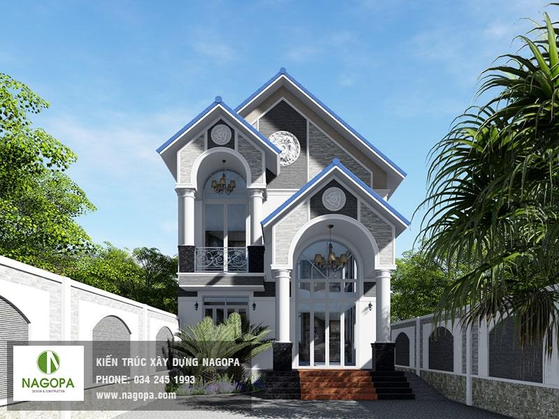 khám phá biệt thự 2 tầng tại Định Hòa, Thủ Dầu Một