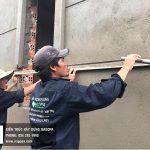 tô trát tường ngoài nhà chị Loan Thủ Dầu Một