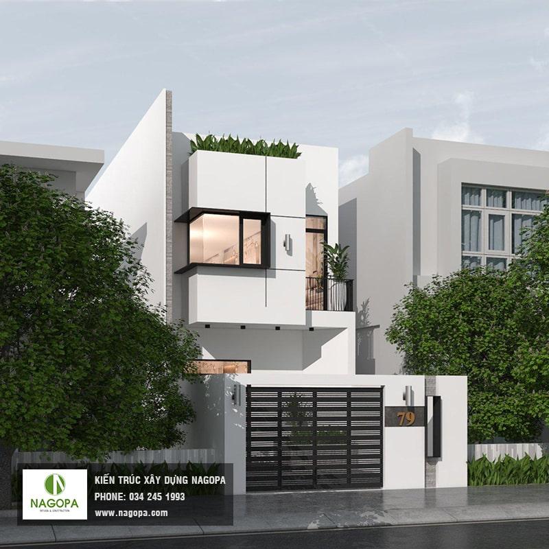 xu hướng nhà phố hiện đại mặt tiền 5m tại bình dương 2020