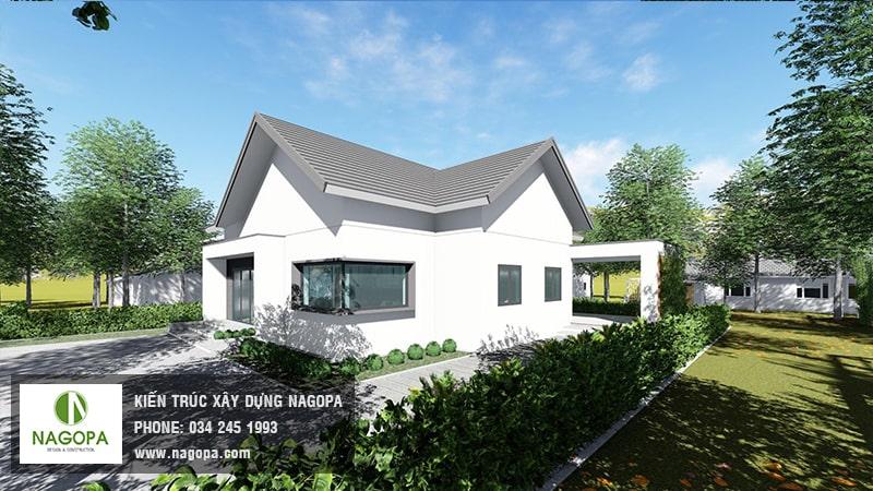 thiết kế biệt thự nhà vườn tại phú giáo 01