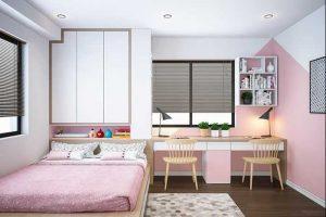 phòng ngủ dành cho bé gái 02