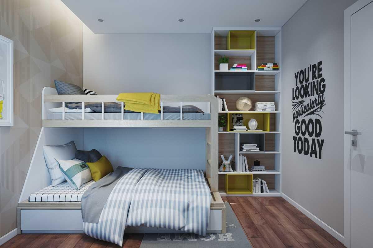 phòng ngủ dành cho bé gái 04