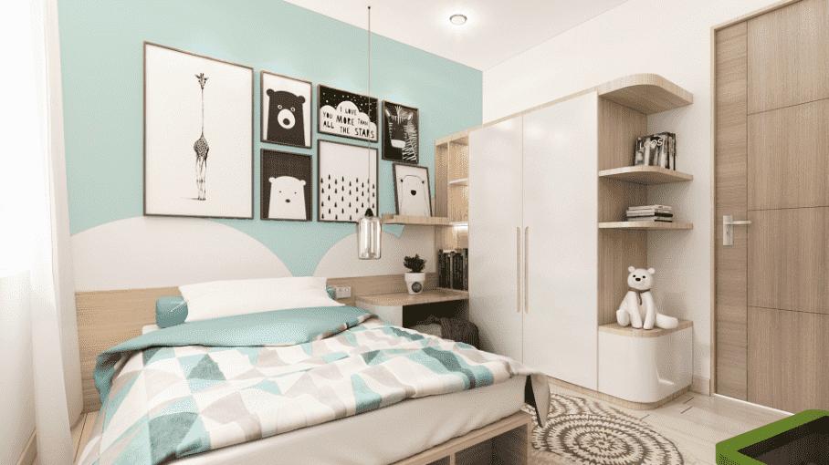 phòng ngủ dành cho bé trai 02