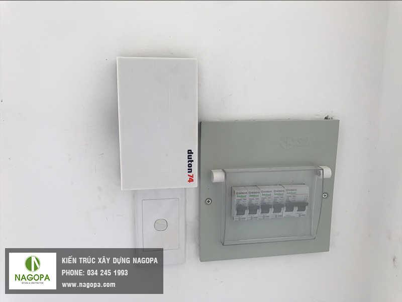 thi công hệ thống điện chiếu sáng nhà ở