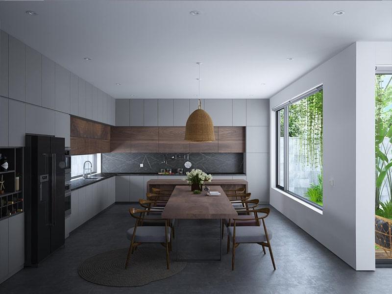 hơn 20 mẫu thiết kế phòng bếp hiện đại được ưu chuộng 02