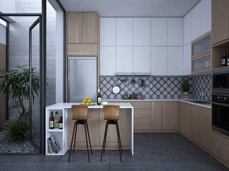 mẫu nhà bếp hiện đại đẹp nhiều người yêu thích 15