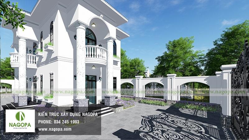 thiết kế biệt thự 2 tầng hiện đại nội bật tại phú an bến cát 03