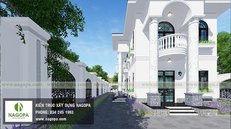 thiết kế biệt thự 2 tầng hiện đại nội bật tại phú an bến cát 04
