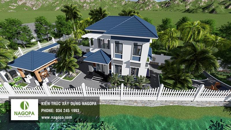 Siêu phẩm biệt thự trên đất vườn đẳng cấp tại Bình Dương 05