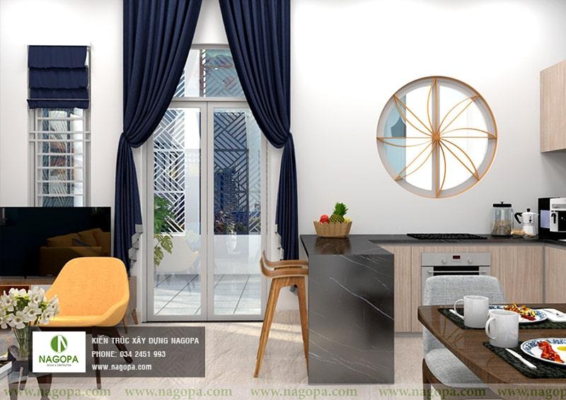 thiết kế nội thất nhà chị thư bến cát 02