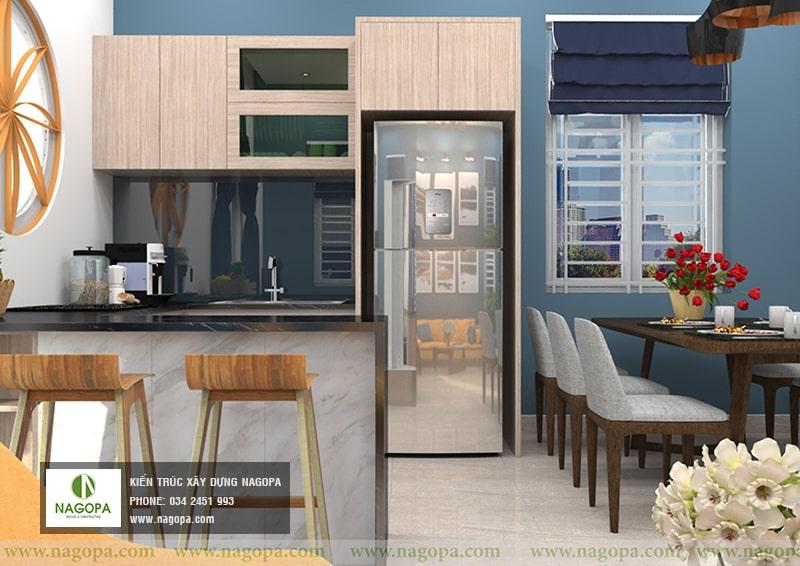 thiết kế nội thất nhà chị thư bến cát 03