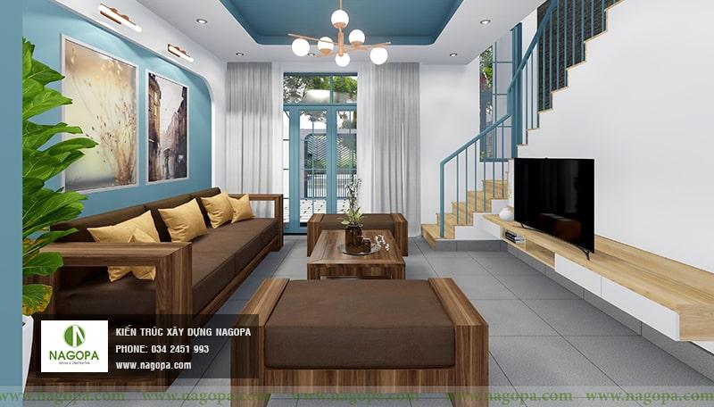 nội thất nhà xanh 02