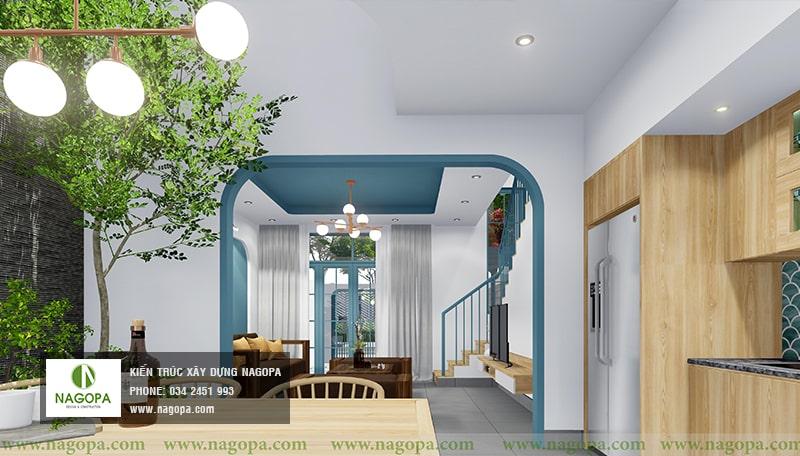 nội thất nhà xanh 09