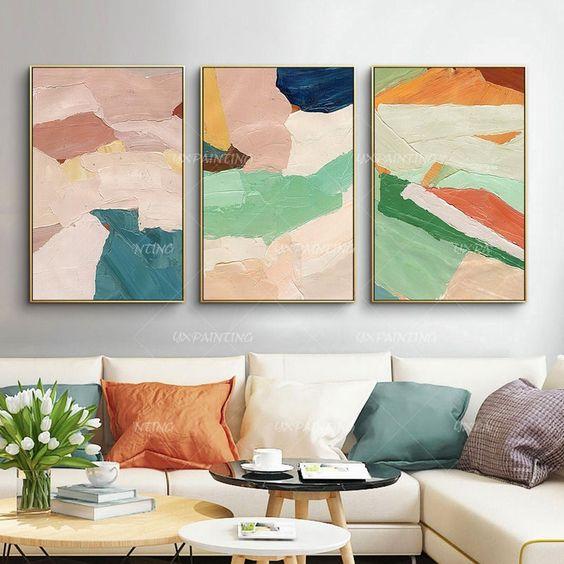 tổng hợp những mẫu tranh phòng khách đẹp 10
