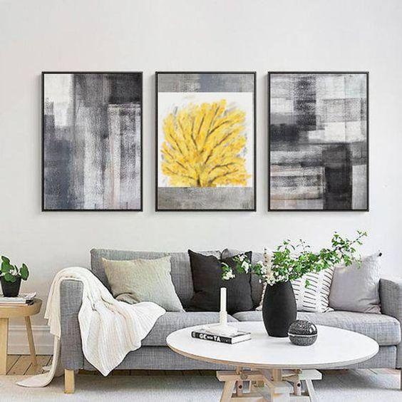 tổng hợp những mẫu tranh phòng khách đẹp 14