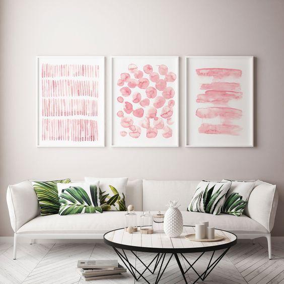 tổng hợp những mẫu tranh phòng khách đẹp 17