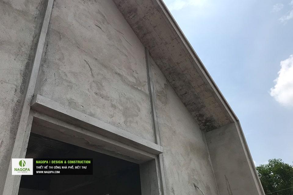 Tiến độ xây dựng nhà phố Chị Thư Thới Hòa Bến Cát 07