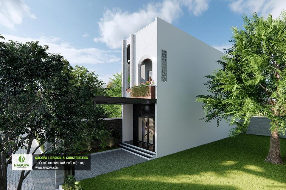 Concept Nhà phố 5x17m 2 tầng hiện đại 03