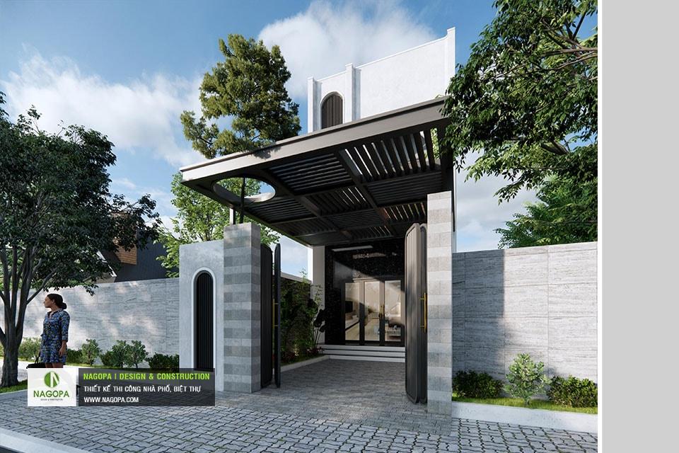 Concept Nhà phố 5x17m 2 tầng hiện đại 04
