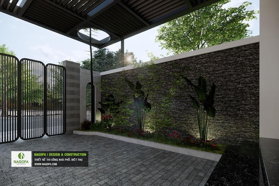 Concept Nhà phố 5x17m 2 tầng hiện đại 05