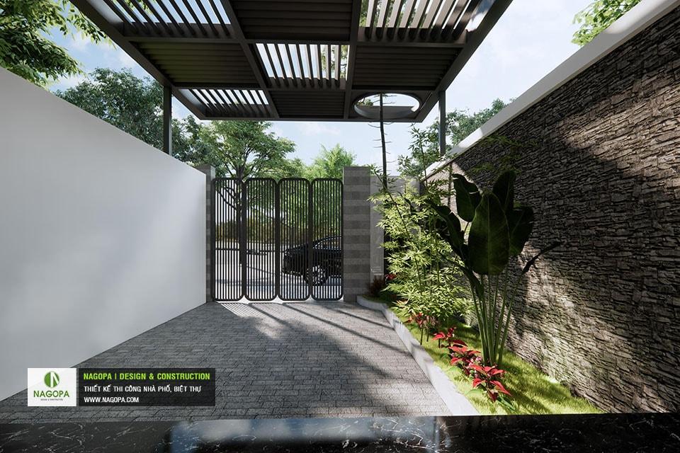 Concept Nhà phố 5x17m 2 tầng hiện đại 06