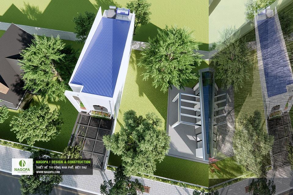 Concept Nhà phố 5x17m 2 tầng hiện đại 07